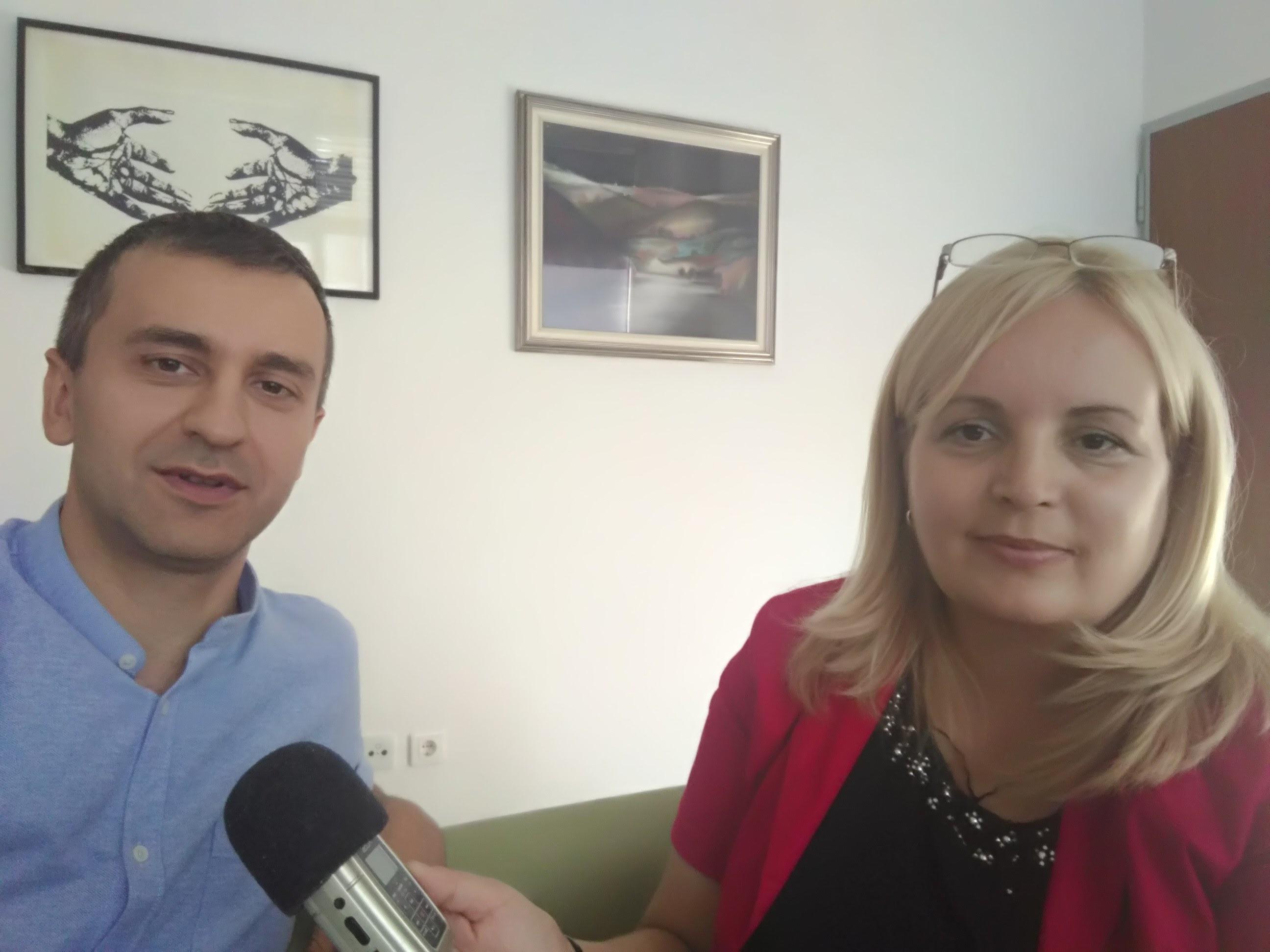 Радмила Карановић и Ненад Бадовинац на РТРС телевизији